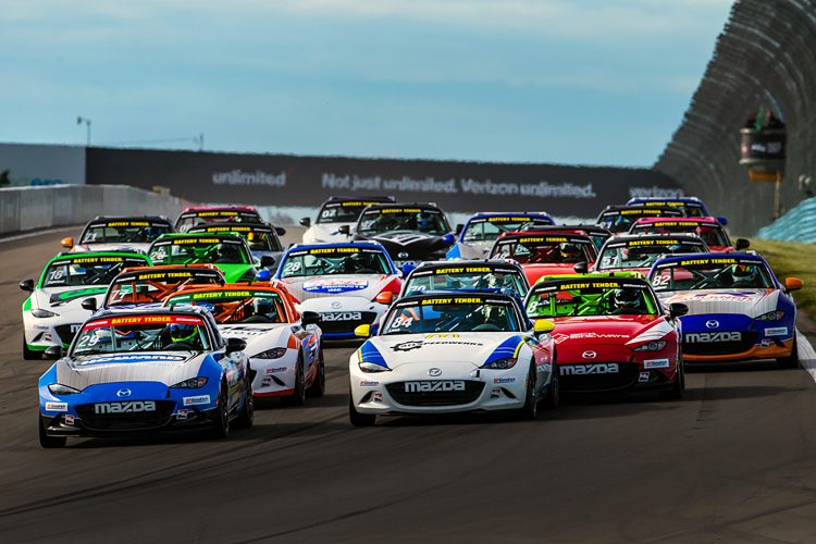 Gallagher Secures Global Mazda MX 5 Cup Title And $200,000