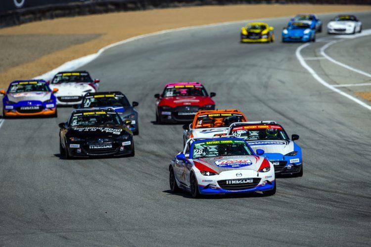 Mazda Raceway Laguna Seca >> Mazda Mx 5 Cup Returns To Mazda Raceway Laguna Seca Sunday