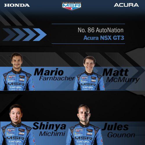 Shinya Michimi And Jules Gounon Join Meyer Shank Racing